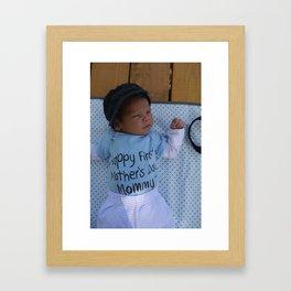 Askar for Grandma Framed Art Print