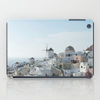 greece iPad Cases featuring Greece Villas by Limitless Design