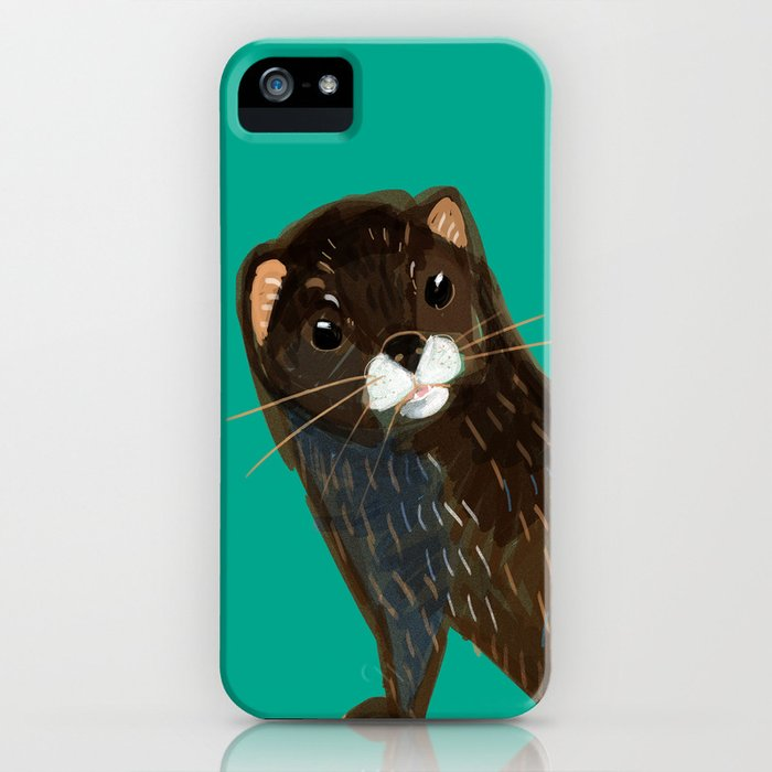 God save the Mink (FIEB) Green iPhone Case