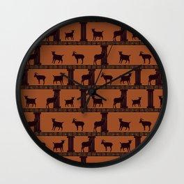Greek Goats Wall Clock