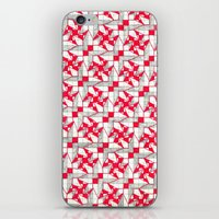 industrial iPhone & iPod Skins featuring Industrial by Meaghan Monroe