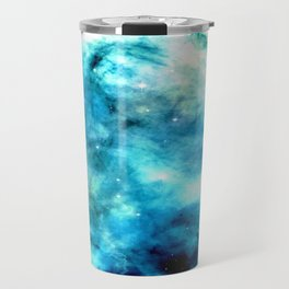 Ocean Blues Nebula galaxy Travel Mug