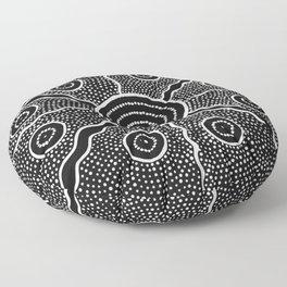 Tribe Pattern Floor Pillow