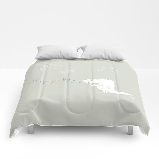 The Happy Bubbles Comforters
