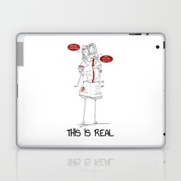 This is real Laptop & iPad Skin