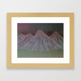 Range - Original Framed Art Print