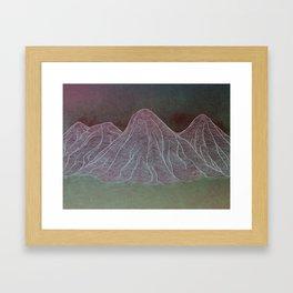 Range - Original Framed Art Print