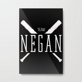 Team Negan Metal Print