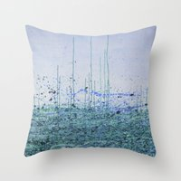 marina Throw Pillows featuring Marina by Katie Duker