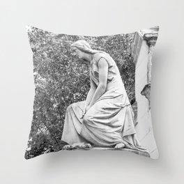 female statue Throw Pillow