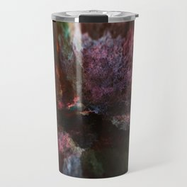 Energy nebula digital illustration background Travel Mug