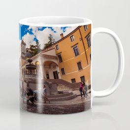 Spring afternoon in the city of Udine Coffee Mug