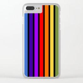 The Bold Rainbow Clear iPhone Case