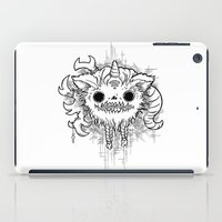 antler iPad Cases featuring Antler Monster by tnelly