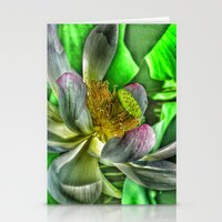 lotus Stationery Cards featuring Lotus by Joke Vermeer