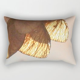 Cluster of lightened leaves Rectangular Pillow