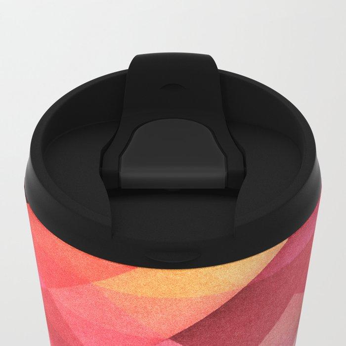 Fall pattern Metal Travel Mug