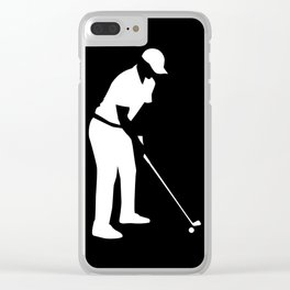 Golf player Clear iPhone Case