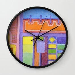 The Balcony  Wall Clock