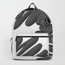 Wired in Black and White Backpack