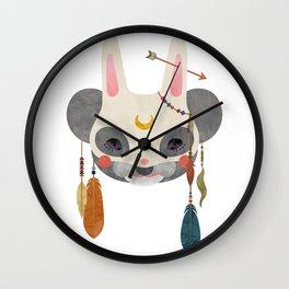 koala masquerade Wall Clock