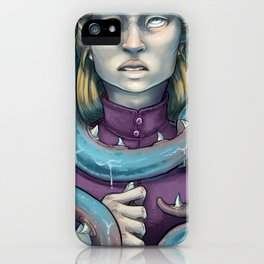 Eyes Blind to the Sea iPhone Case