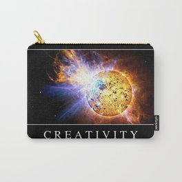 Creativity: Inspirational Quote and Motivational Poster Carry-All Pouch