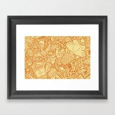 #MoleskineDaily_18 Framed Art Print