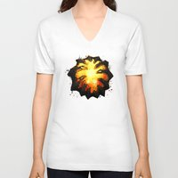 dota V-neck T-shirts featuring Immortality! by Hinasei