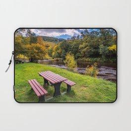 Snowdonia River Autumn Laptop Sleeve