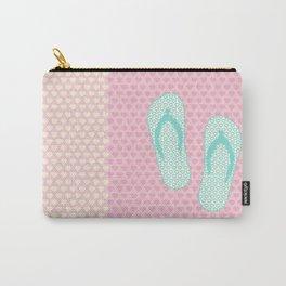 Flip Flop Pastel Carry-All Pouch