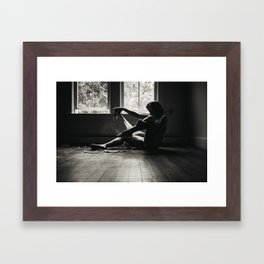 Temporary Places Framed Art Print