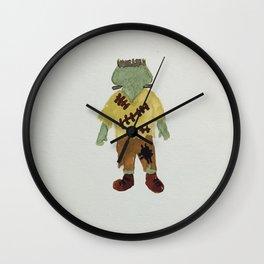 Trick or Treat Halloween Toddler Frankenstein Monster Wall Clock