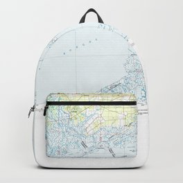 MS Gulfport 337214 1982 topographic map Backpack