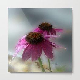 Pretty Pink Windflower Metal Print