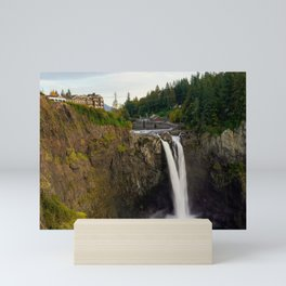Snoqualmie Falls, Washington Mini Art Print