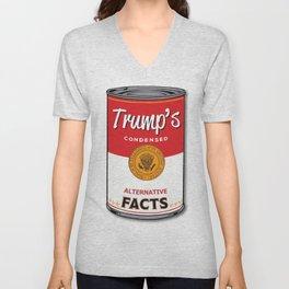 Trump's Canned Goods Unisex V-Neck
