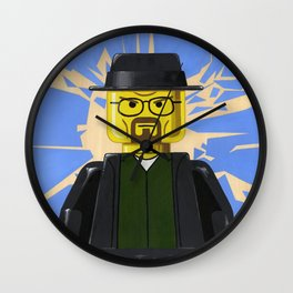 LEGO - Walter White Minifigure Wall Clock