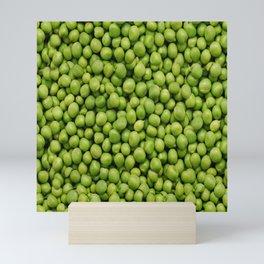 Green Peas Texture No1 Mini Art Print