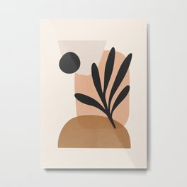 Minimal Abstract Art 11 Metal Print