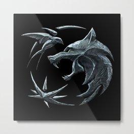 The Witcher Logo Metal Print