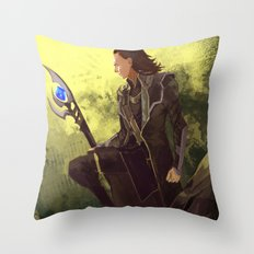the would be king Throw Pillow