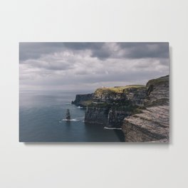 Welcome to Moher Metal Print