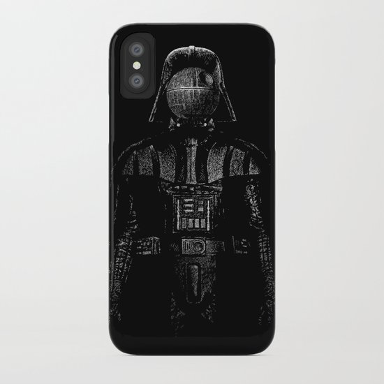 Darth Magritte iPhone Case