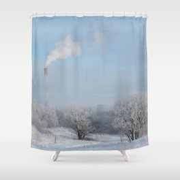 Frost Industries Shower Curtain