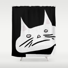 Wake Up, I'm Hungry Shower Curtain