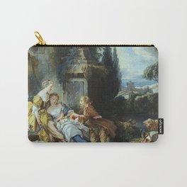 """François Boucher """"Pastoral scene (Scène pastorale)"""" Carry-All Pouch"""