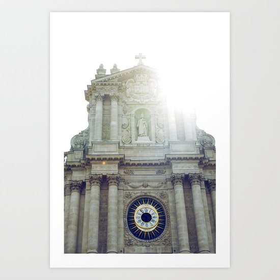 Eglise Saint Paul, Le Marais, Paris II Art Print