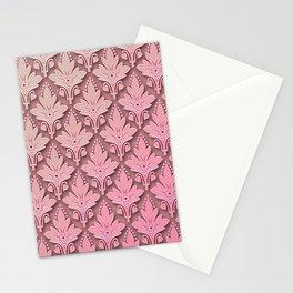 AMOROSO DAMASK - Beautiful Design - PINK PANACHE Stationery Cards