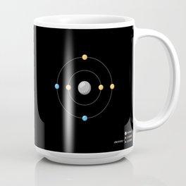 Carbon Atomic Model Coffee Mug